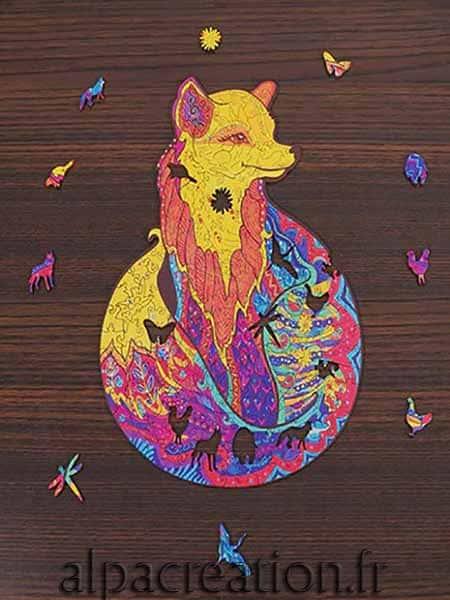 Puzzle renard