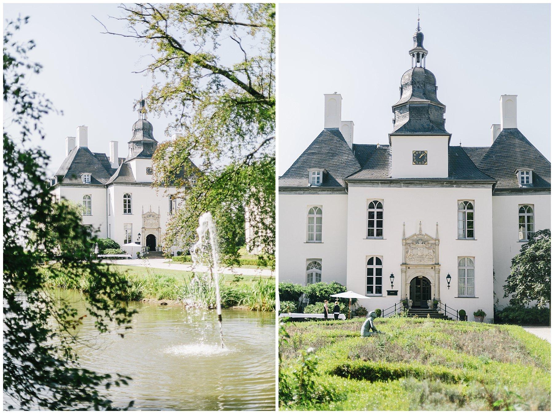 Vintage Hochzeit Auf Schloss Gartrop In Hunxe Jane Weber