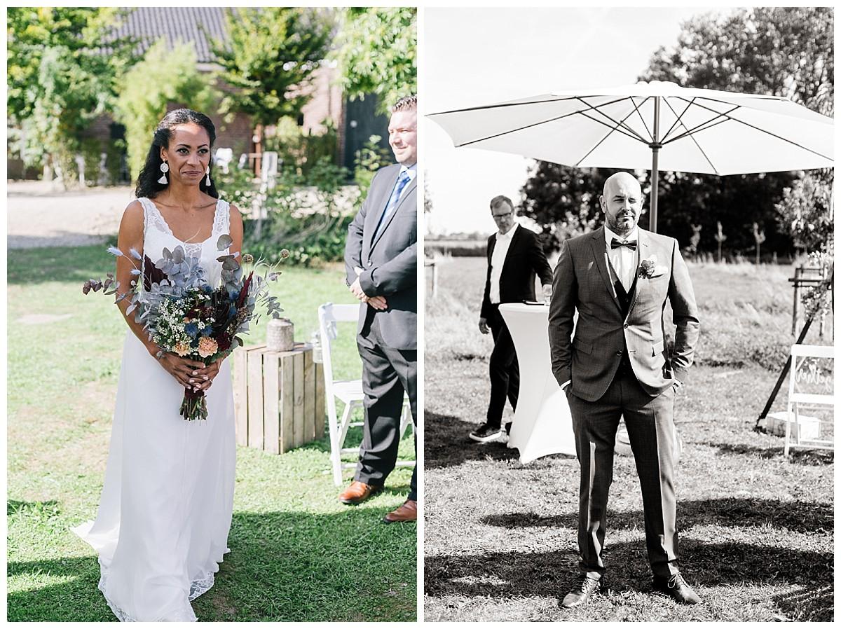 Trauungszeremonie Neimeshof Kempen boho Hochzeit freie Trauung Scheunenhochzeit Hochzeitsfotograf Niederrhein Jane Weber