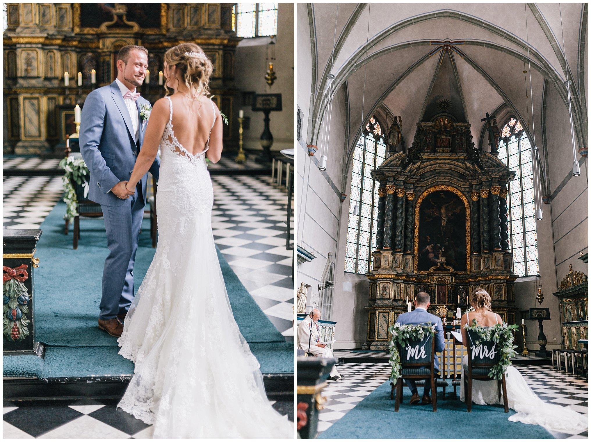 kirchliche hochzeit Golfhotel Vesper Hochzeit Sprockhövel Hochzeitsfotograf Jane Weber boho chic vintage fine art