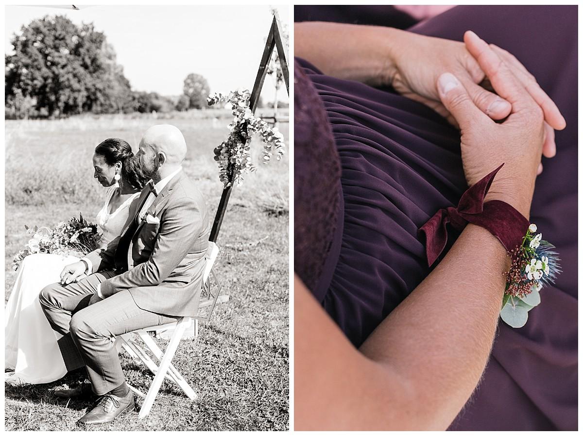Detail Blumen Neimeshof Kempen boho Hochzeit freie Trauung Scheunenhochzeit Hochzeitsfotograf Niederrhein Jane Weber