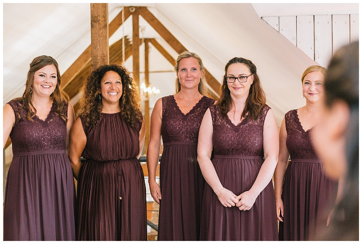 Brautjungfern Neimeshof Kempen boho Hochzeit freie Trauung Scheunenhochzeit Hochzeitsfotograf Niederrhein Jane Weber