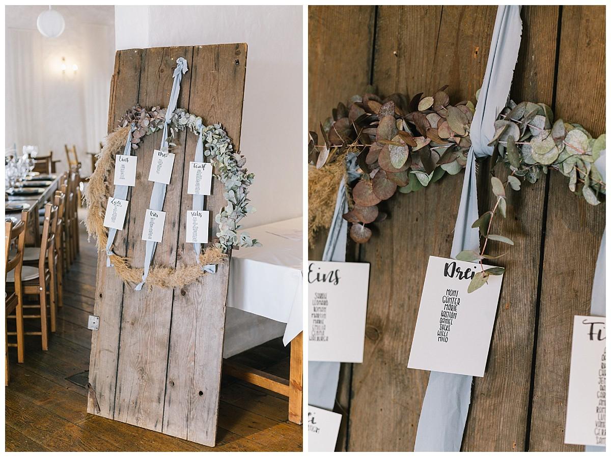 sitzplan boho chic Seidenband Neimeshof Kempen boho Hochzeit freie Trauung Scheunenhochzeit Hochzeitsfotograf Niederrhein Jane Weber