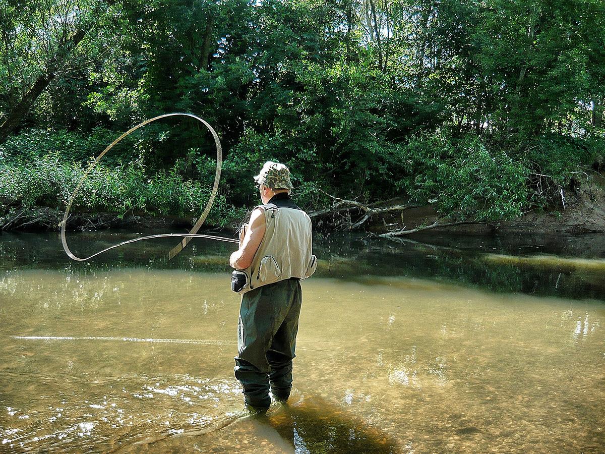 Wurfkurse für Fliegenfischer