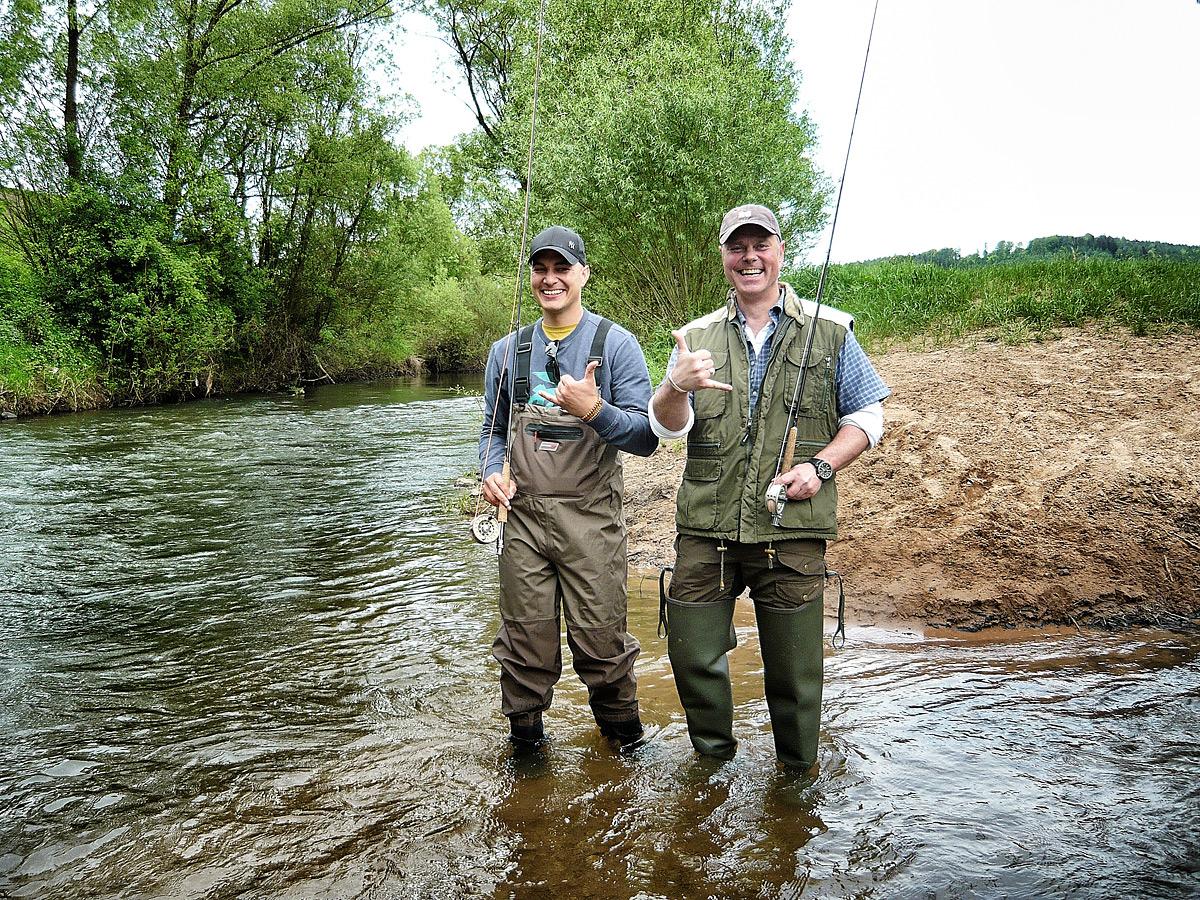 Fliegenfischer Kurs Hessen