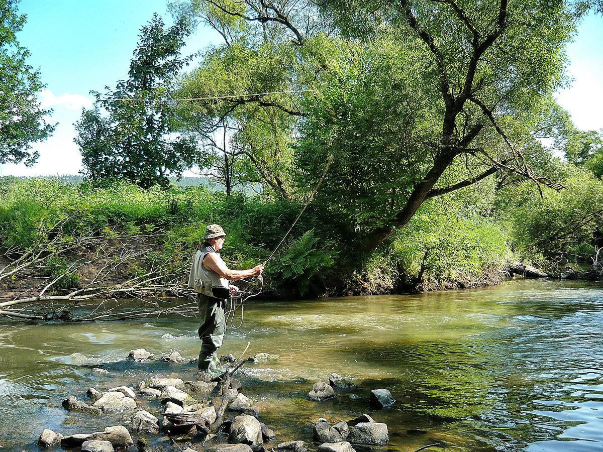 Guiding am Fluß