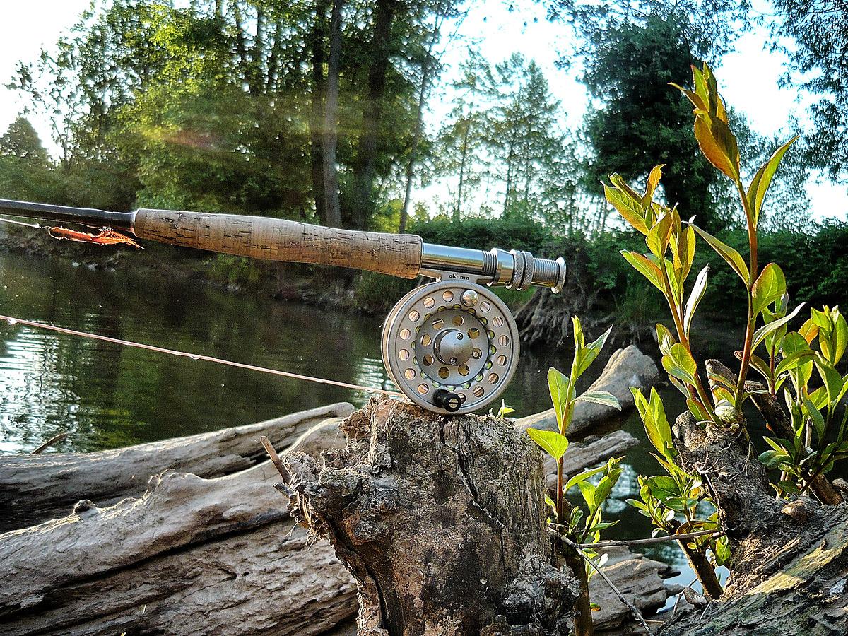 FFSH-Leihgeräte / Fliegenfischen lernen