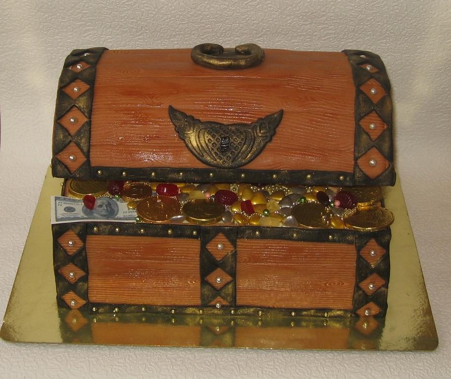 Сундук с сокровищами, вес 6,8кг