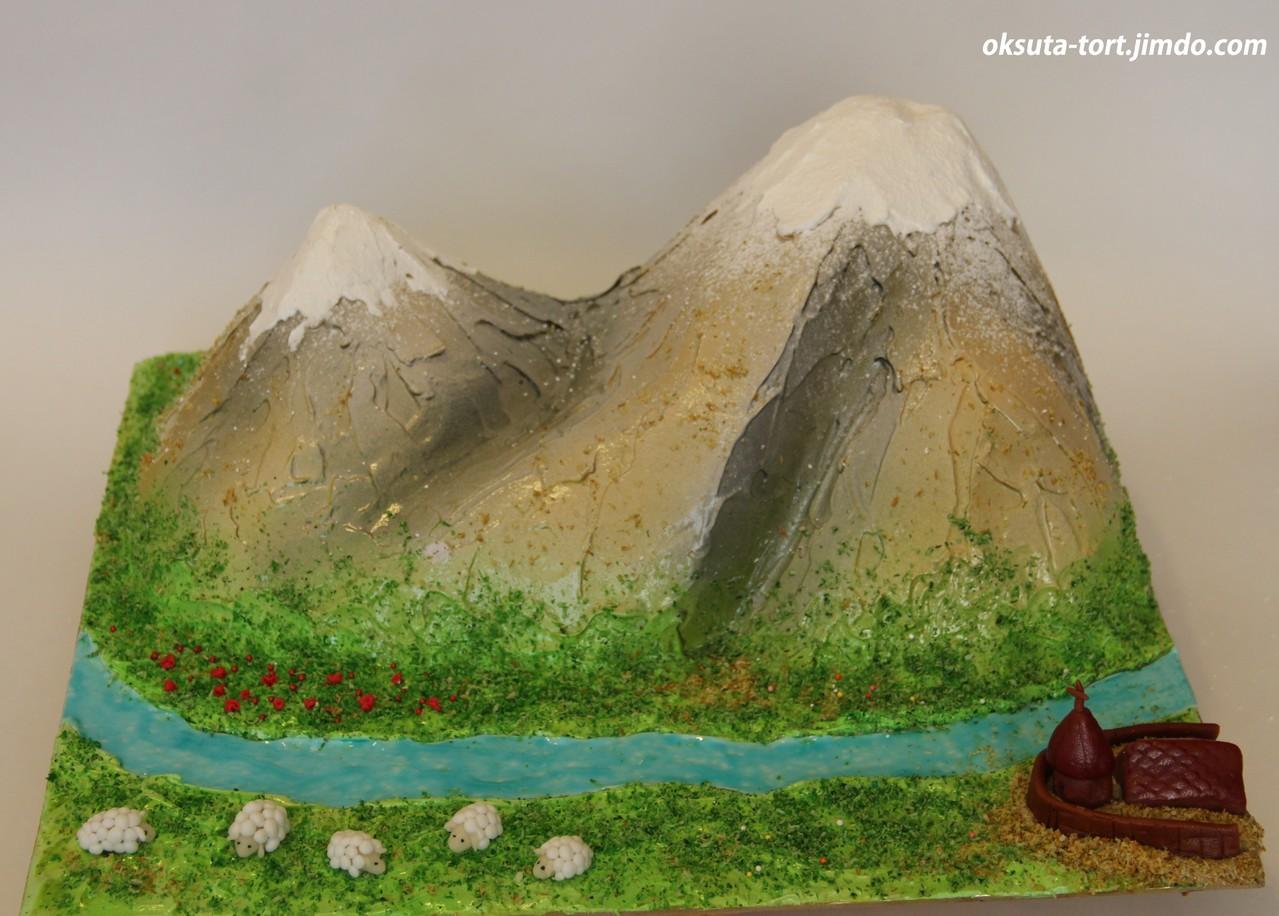горы поделки картинки