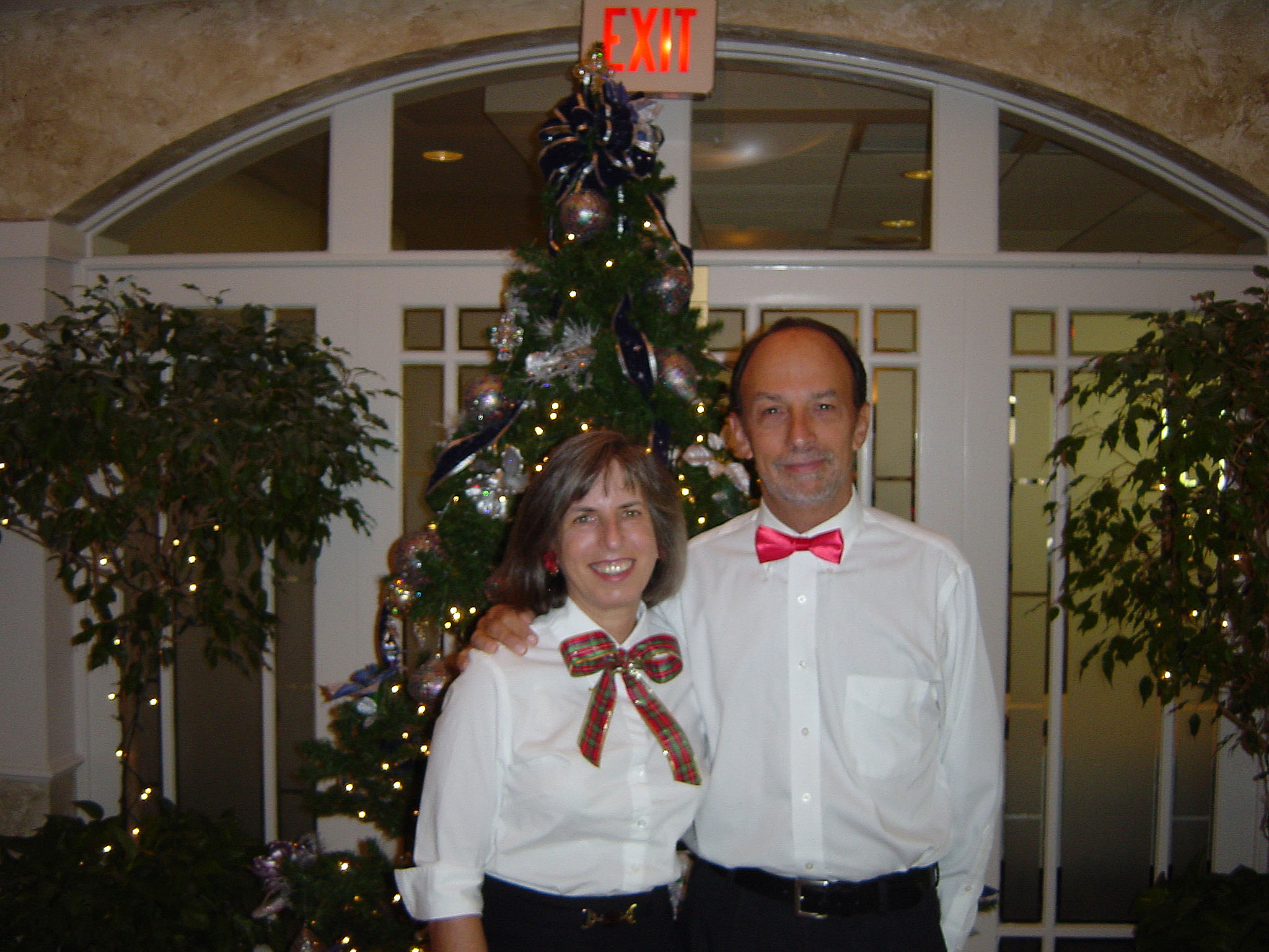 Sharon and  Stephen Dickman, The Meadows Country Club, 2003-12-12