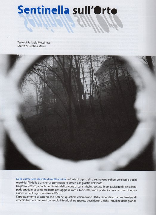 """pubblicata sulla rivista letteraria """"La Luna di Traverso"""" n.°19 _Paura"""