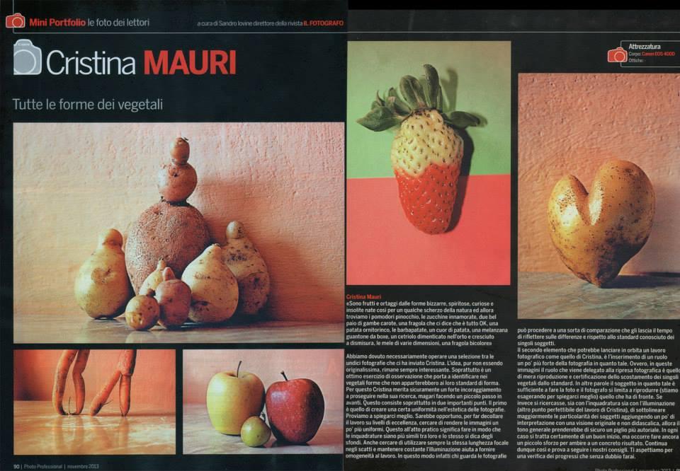 portfolio pubblicato su Photo Professional_Novembre 2013
