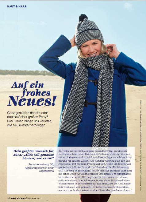 NIVEA FÜR MICH 12/2012