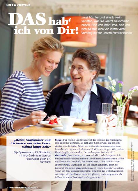 NIVEA FÜR MICH 09/2012