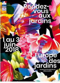 """je participe au week-end des """" RDV aux jardins 2018"""". Le jardin d'ARBRUME sera ouvert au public le samedi et dimanche 2 et 3 juin de 9h a 17h30. Il s'agit d'un jardin japonisant, il y aura aussi une expo/vente de Niwaki."""