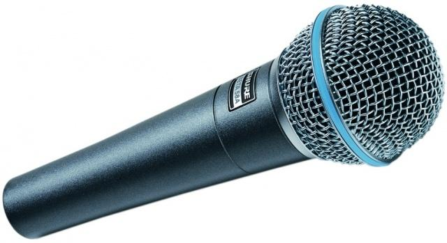 Beta 58 Shure, Fabiani Guitars Calw