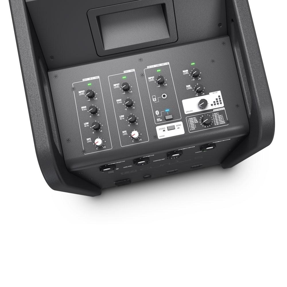 LD Systems - Curv 500 ES 2 PA Anlage, Anschlüsse