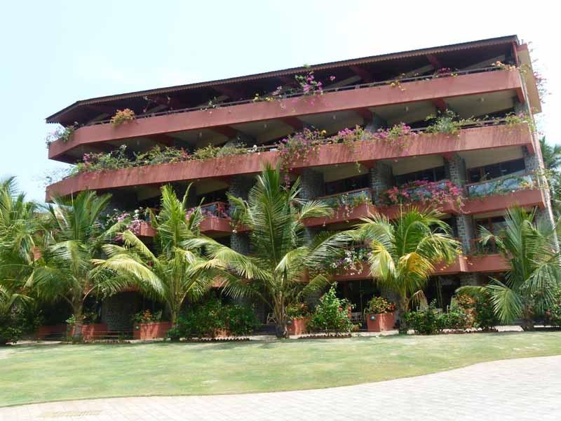 Einer der Gebäudekomplexe