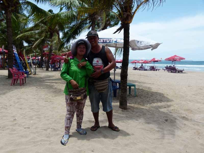 Dul und Juliane von der Strandbar