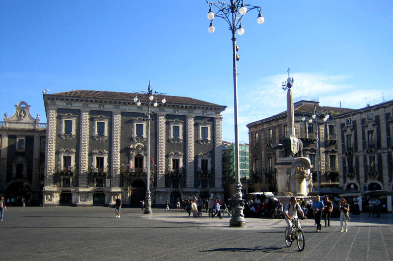 und die Piazza