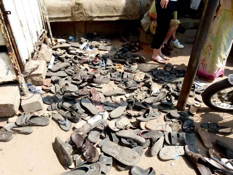 Einheimischen-Schuhe