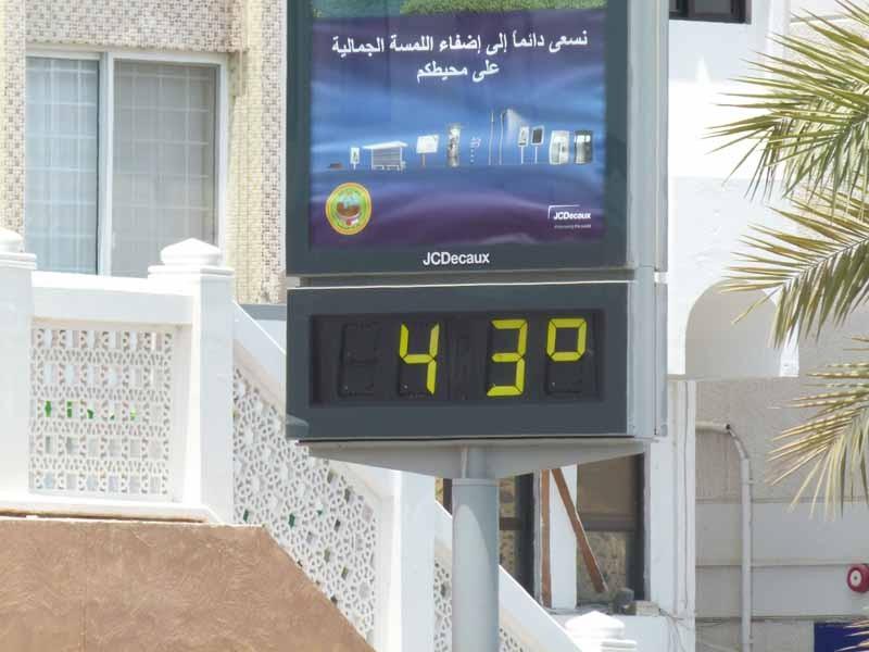 Das sind Temperaturen !