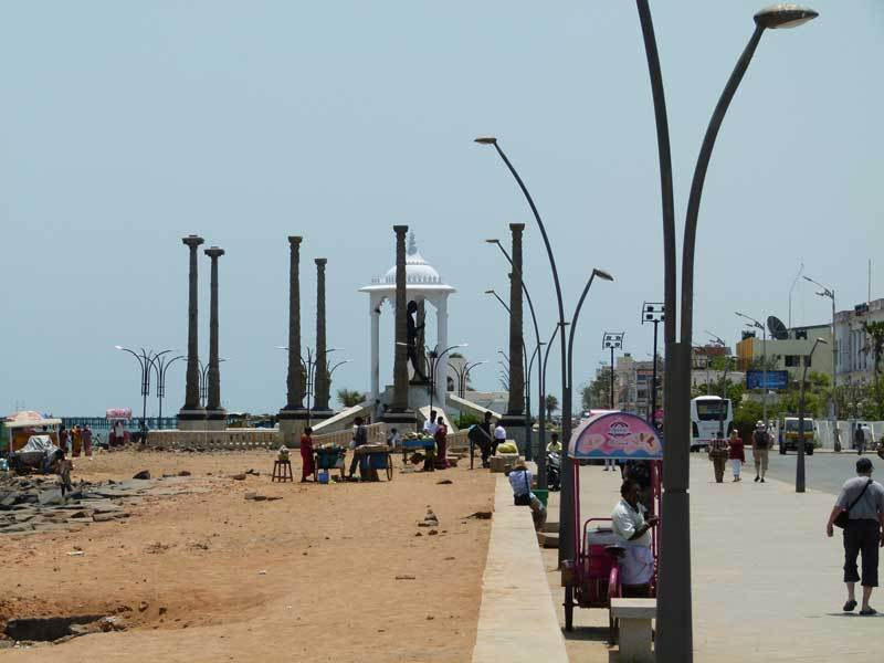 Strandpromenade Pondicherry