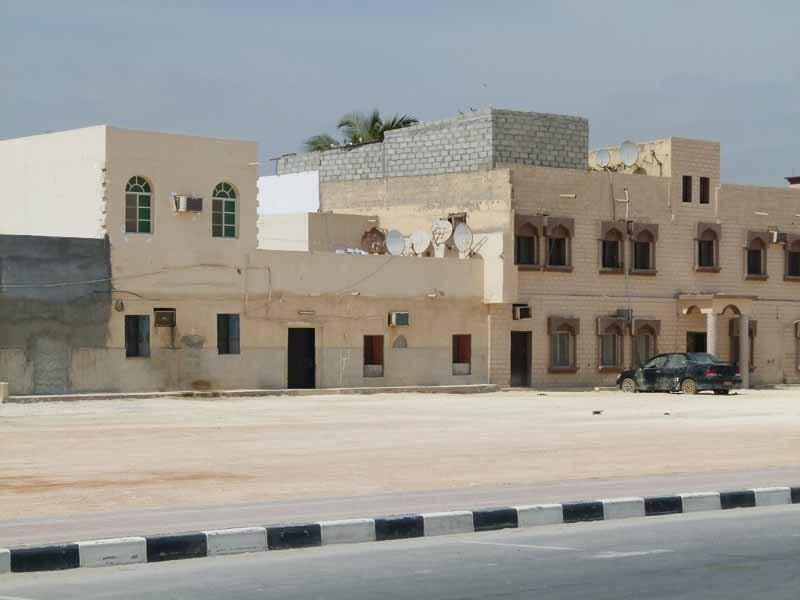Häuser in Mirbat