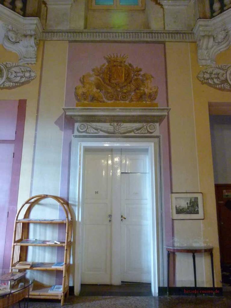 Unsere Zimmertür