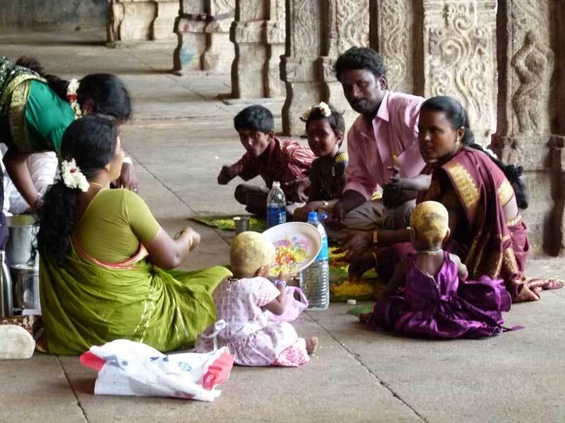 Tempel - auch zum Picknicken