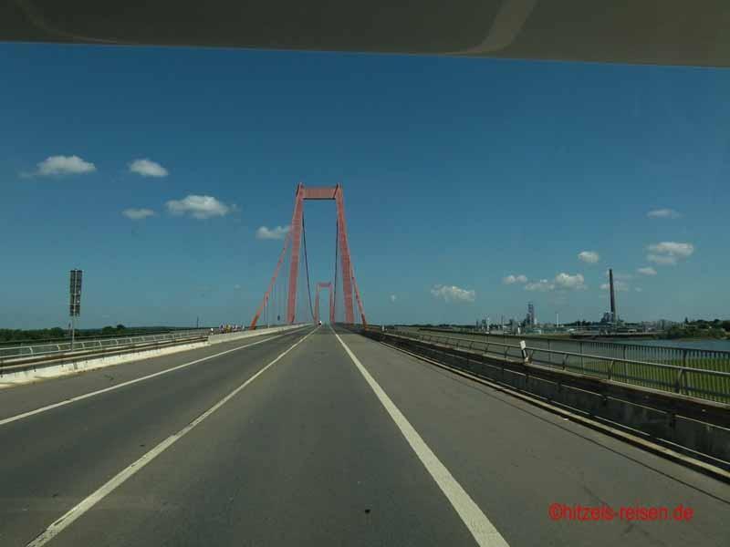 Rhein-Brücke bei Emmerich