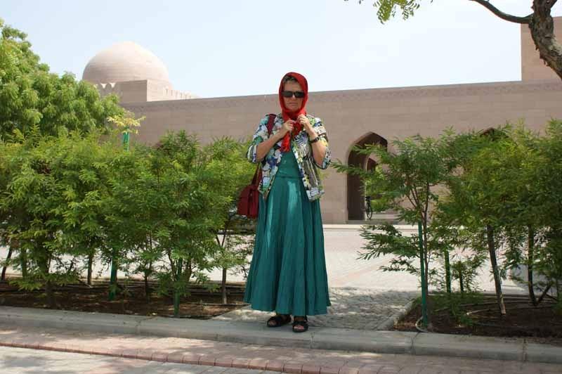 Kleiderordnung in der Großen Moschee