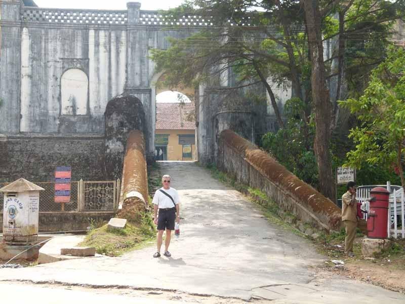 Im Fort von Madikeri