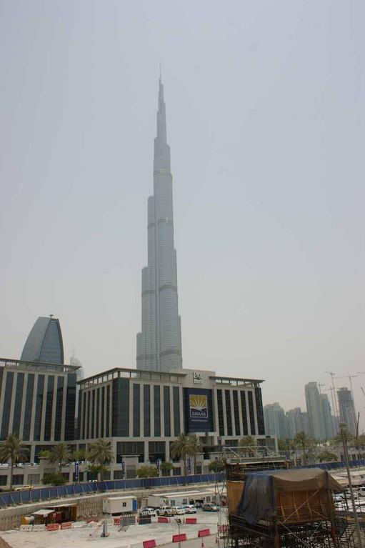 Burj Khalifa von weitem