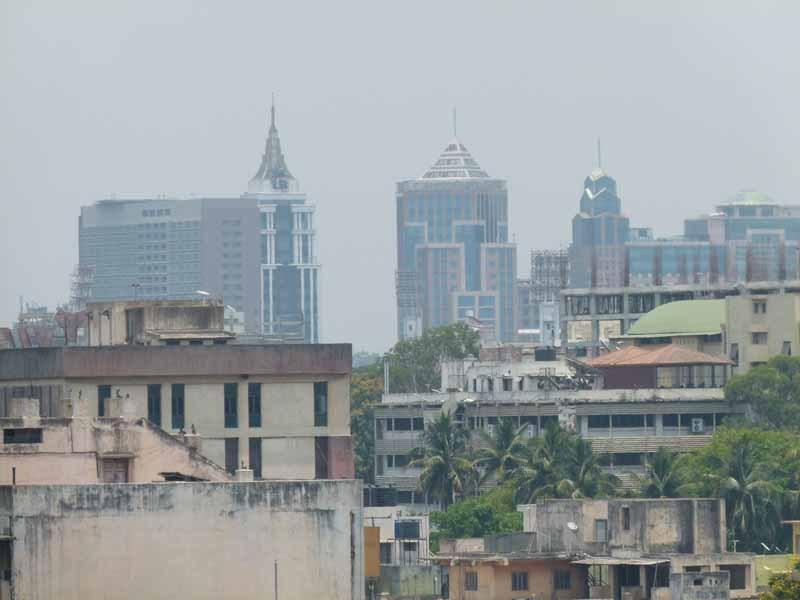 Blick auf Bangalore