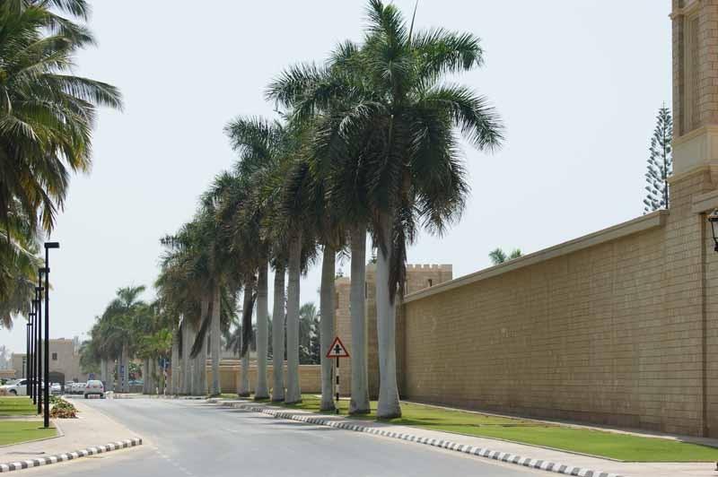 Straße zum Sultans Palast