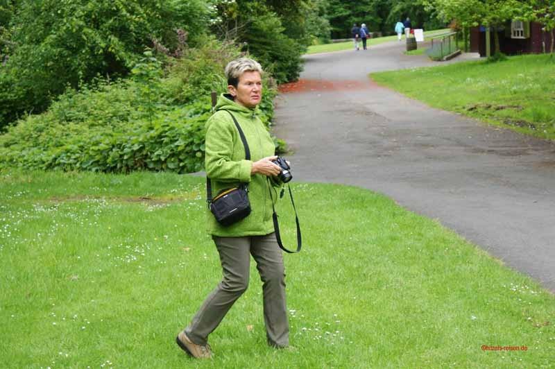 Spaziergang durch die Gärten und die Anlage