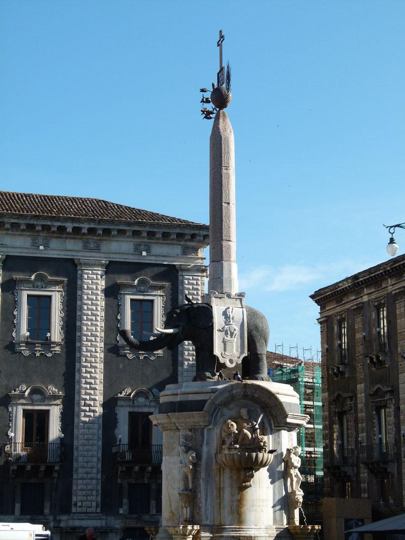 Das Wahrzeichen Catanias
