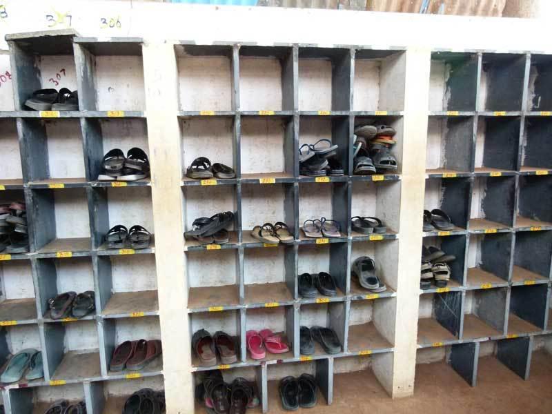 Touristen-Schuhe