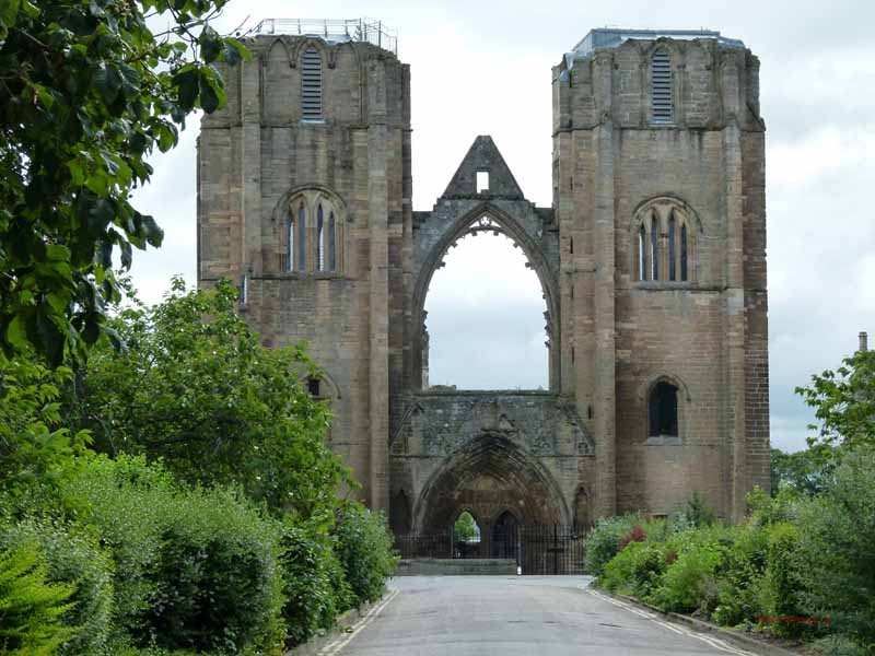 Die Ruine der Kathedrale in Elgin