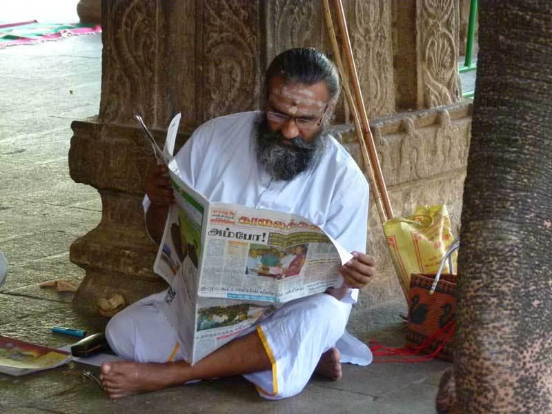 Tempel - Ort zum Lesen