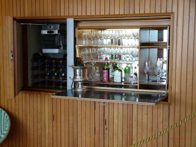 Bar auf dem Sonnendeck
