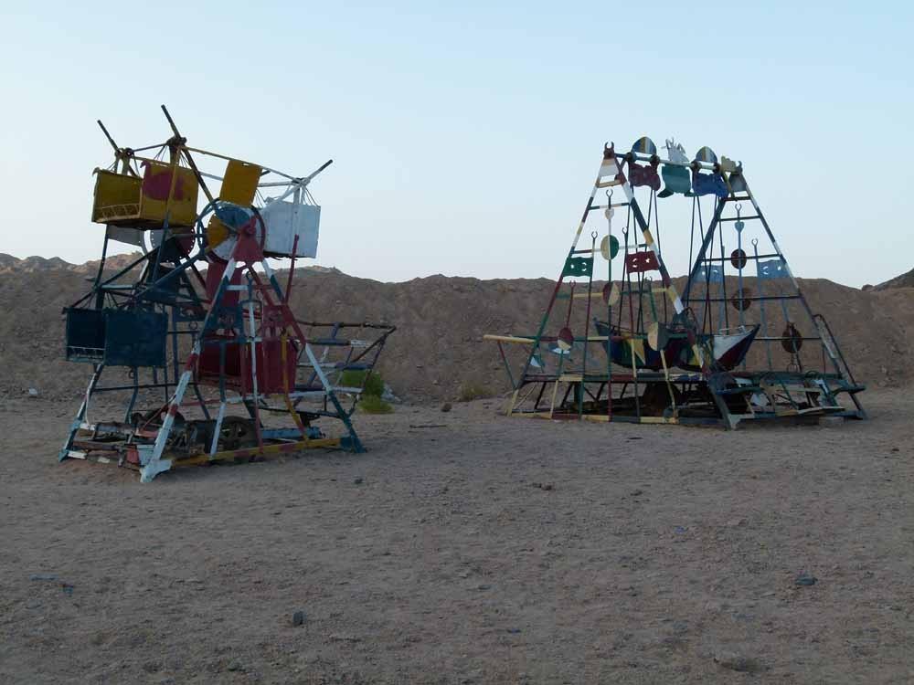 Spielplatz in der Wüste