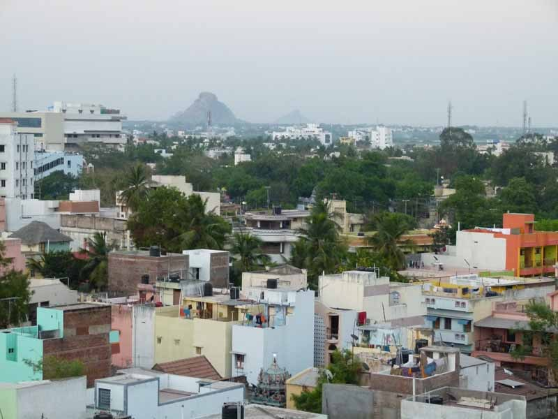 Blick auf Madurai