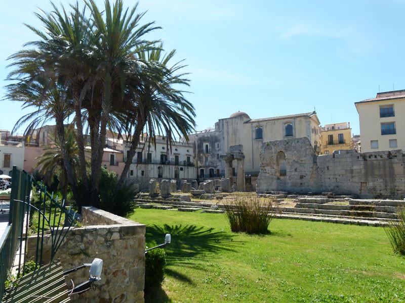 Beginn der Halbinsel Ortigia