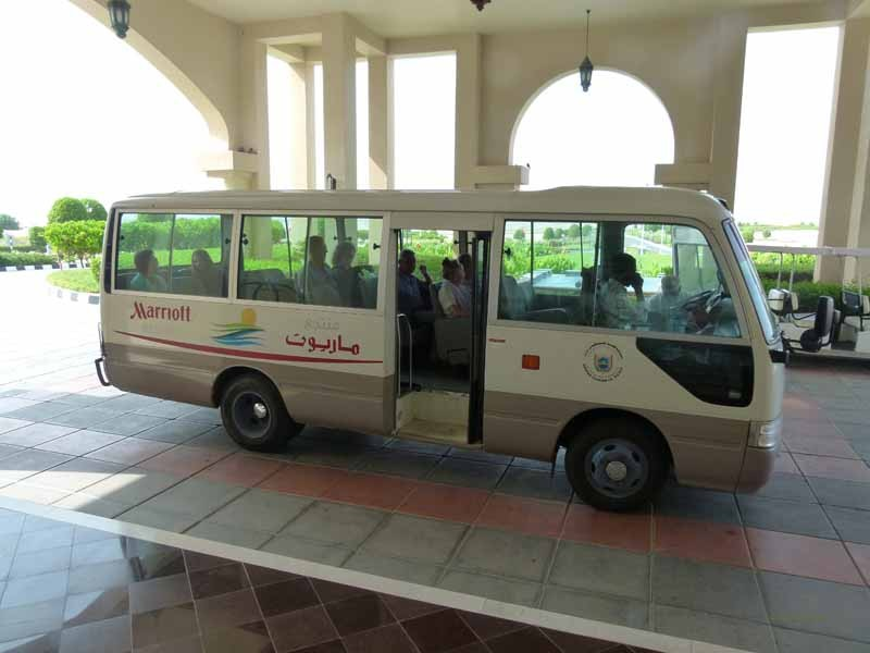 Shuttle Bus nach Salalah