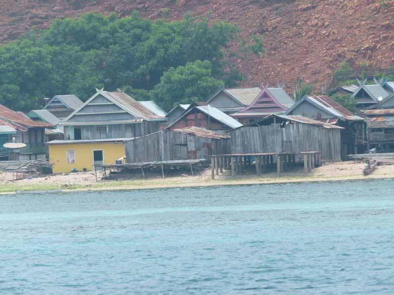 Steuern ein Dorf an
