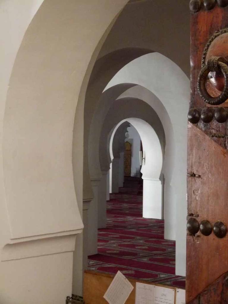 14.4. - Alle Bogen der Moschee schauen nach Osten