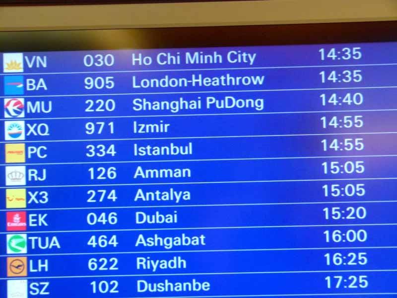 """Wir fliegen in der """"Holzklasse"""" mit Sunexpress über Izmir nach Salalah"""