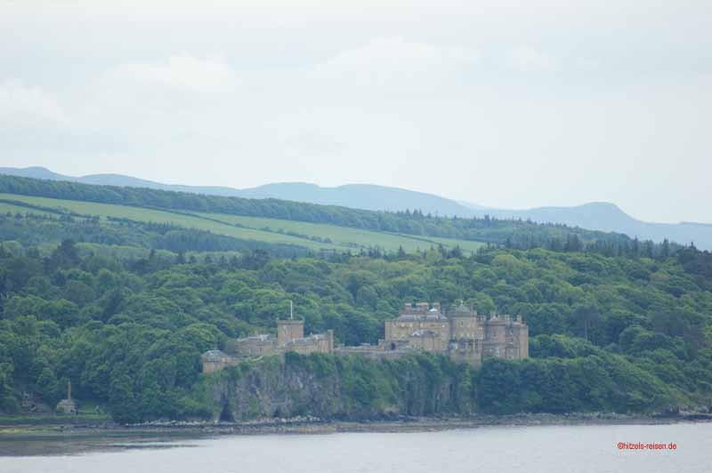 Culzean Castle nochmal aus der Ferne